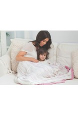 Aden + Anais Bamboo dream blanket | tranquility leafy