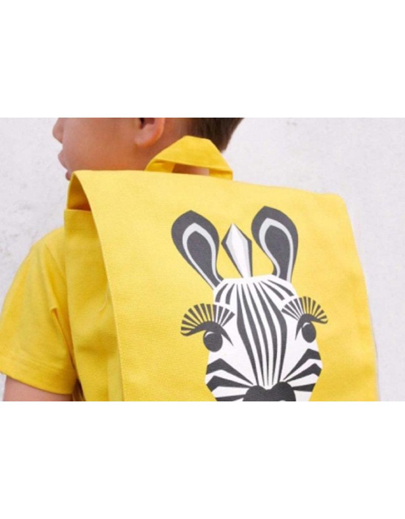 Coq en Pâte éditions Kleuterrugzak SOS - zebra