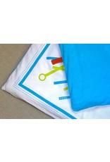 Deuz Prachtig gewatteerde speelmat/boxkleed | fushia