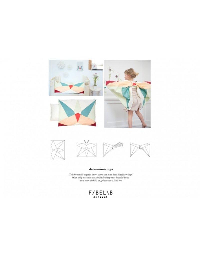 Fabelab Dekbedovertrek | dream-in-wings wieg