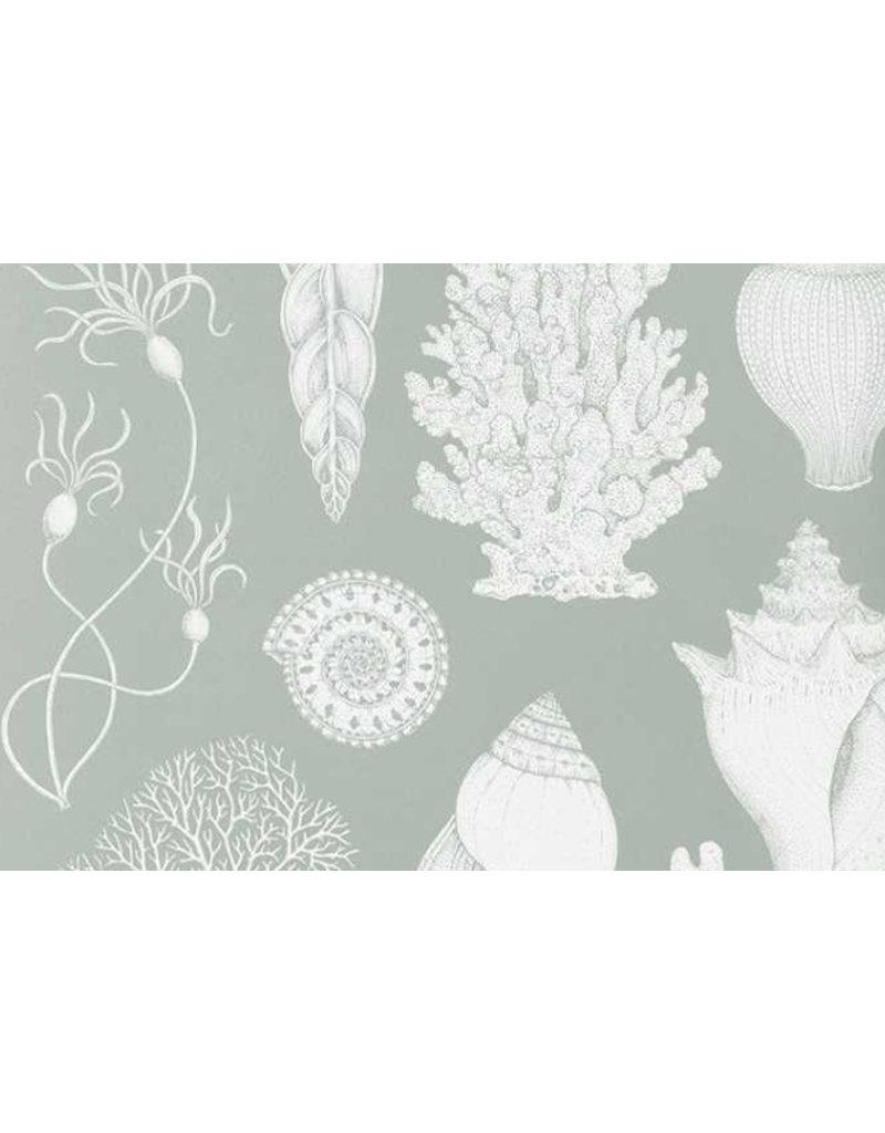 Ferm Living Behangpapier Shells - aqua