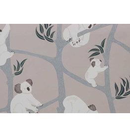 Ferm Living Behangpapier Koala - grey