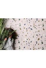 Ferm Living Behangpapier Terrazzo - rose
