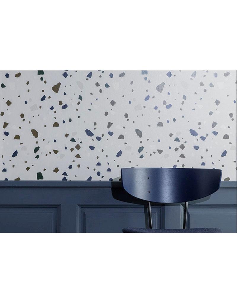 Ferm Living Behangpapier Terrazzo | grey