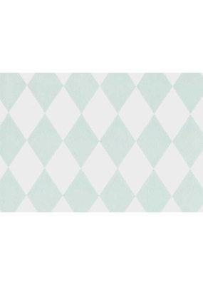 Ferm Living Behangpapier Harlequin - mint