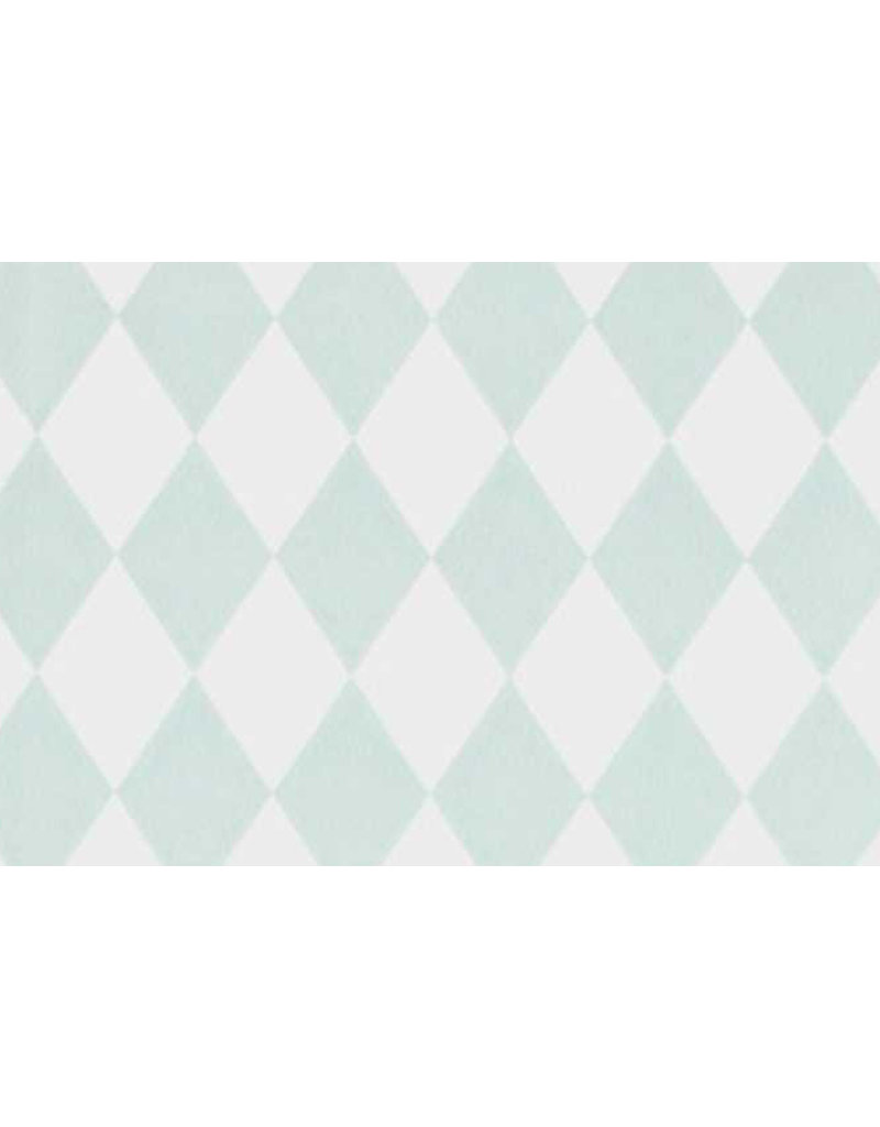 Ferm Living Behangpapier Harlequin - mint