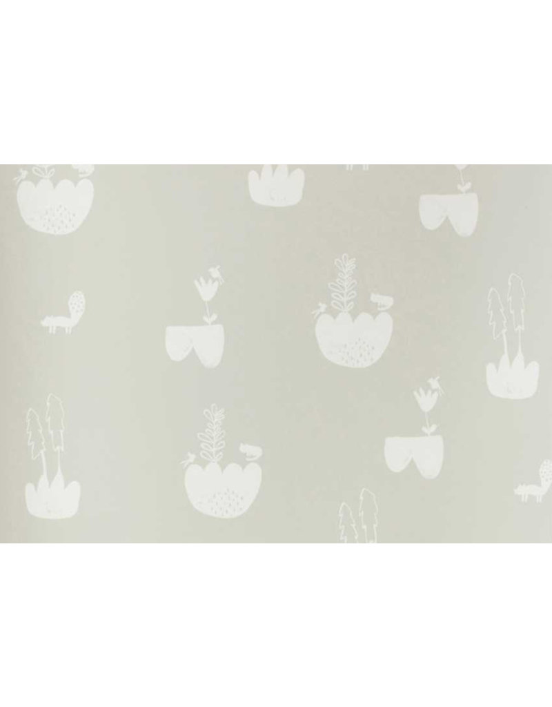 Ferm Living Behangpapier Landscape | grey