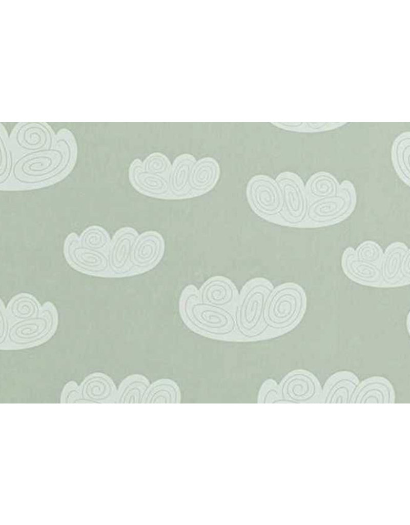 Ferm Living Behangpapier Cloud - mint