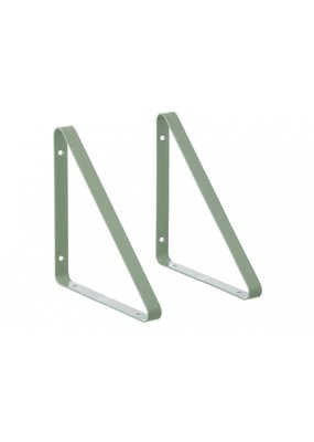 Ferm Living Metal shelf hangers | mint