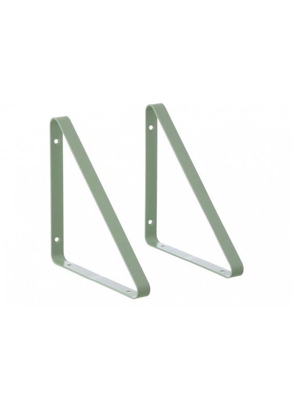 Ferm Living Metal shelf hangers | mint