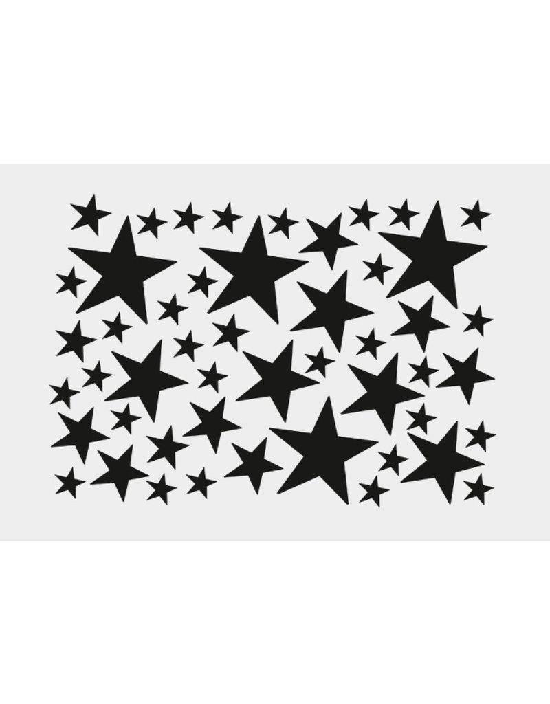Ferm Living Muurstickers  ster | zwart