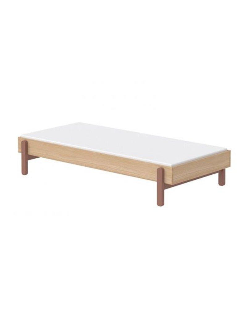 Flexa Popsicle bed 90x200cm - eiken/cherry