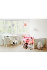 Flexa White Bed met lades - wit