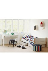 Flexa White Bed met lades - blank gelakt