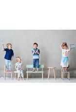 Flexa Kids stoel - urban grey