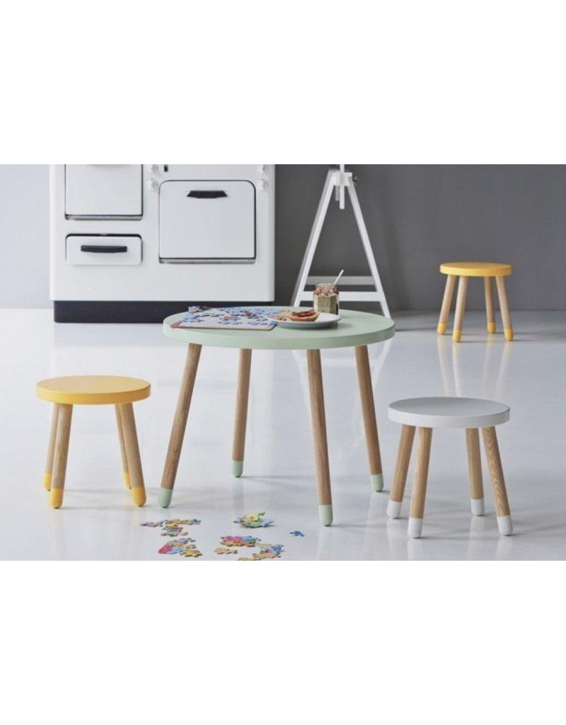 Flexa Play Kinderspeeltafel essenhout - wit