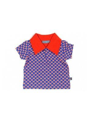 Froy & Dind Polo shirtje - artdeco blue
