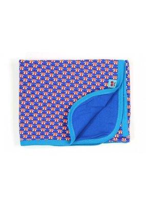 Froy & Dind Wiegdeken / inbakerdoek - artdeco blue