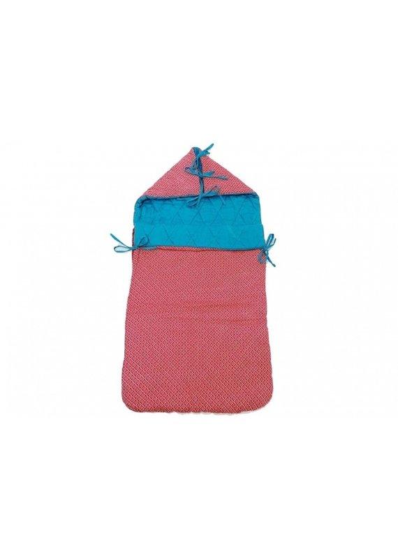 Froy & Dind Retro nestje voor maxi-cosi   danish red