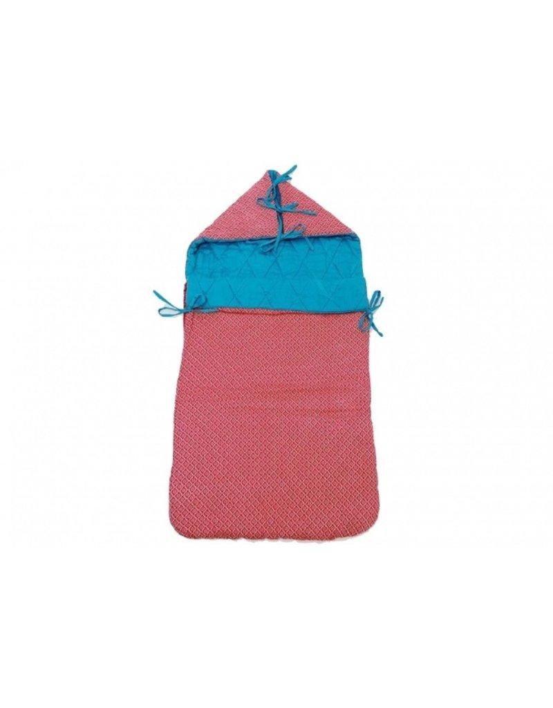 Froy & Dind Retro nestje voor maxi-cosi | danish red