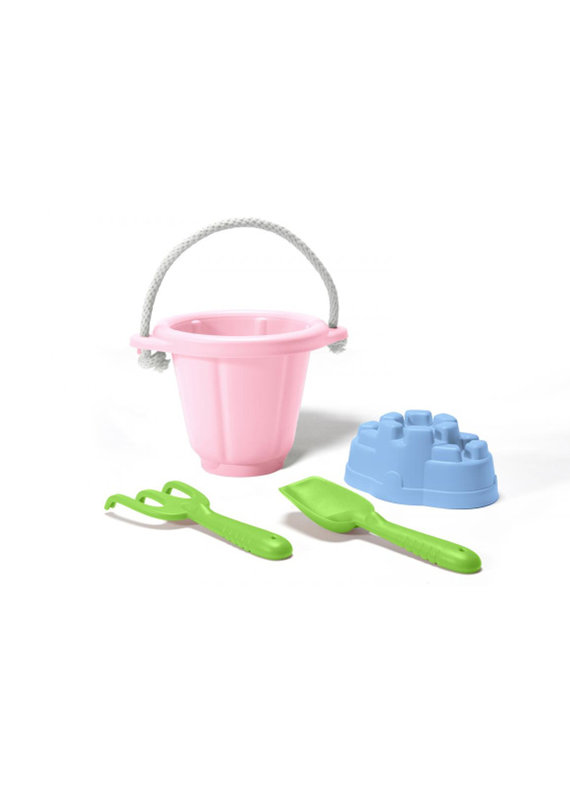 Green Toys Mooie zandset | roze