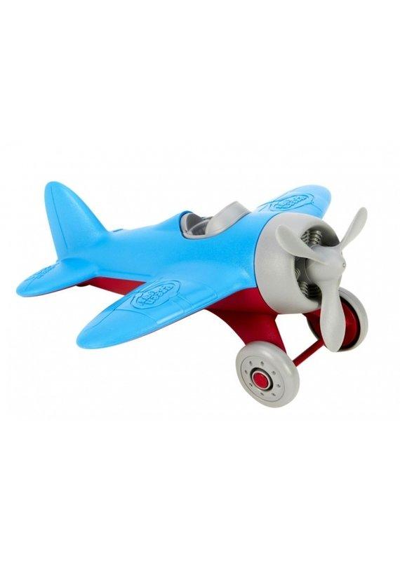 Green Toys Cool vliegtuig   blauw