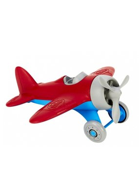 Green Toys Cool vliegtuig - rood
