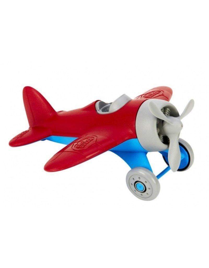 Green Toys Cool vliegtuig | rood