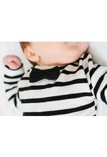 House of Jaimie Bow Tie babysuit little stripes