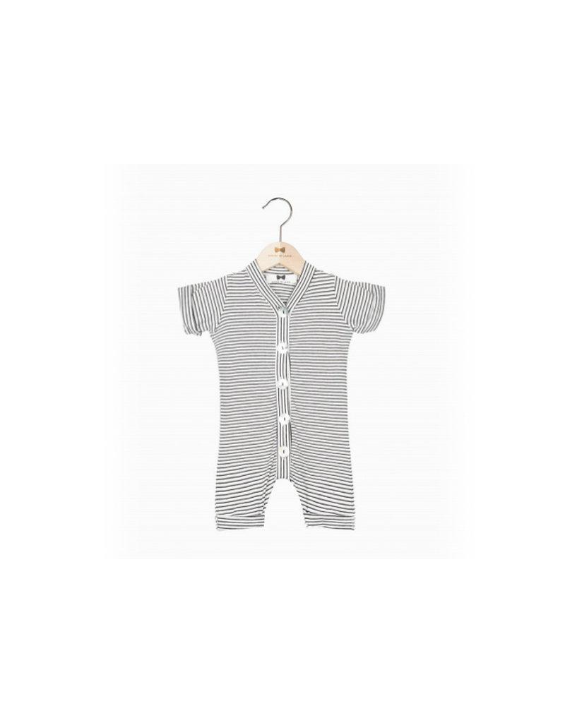 House of Jaimie Button suit Litlle Stripes