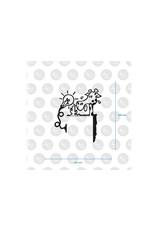 HU2 Sticker Thirsty - giraffe