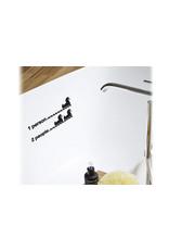 HU2 Sticker Bath duck level