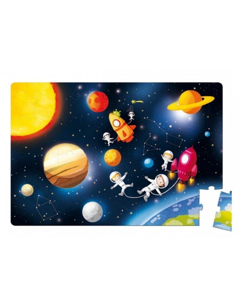 Janod Coole vloerpuzzel  - space & kids