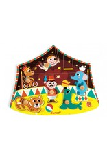 Janod Mooie knoppuzzel - circus
