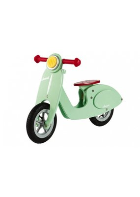 "Janod Fantastische loopfiets ""scooter"" - mint"