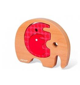 Janod Babywood olifant