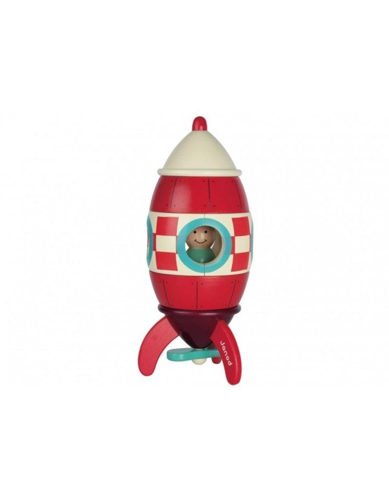 Janod Reuze magneetkit - raket