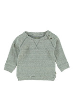 Kidscase Sugar organic sweatshirt - off white/grey