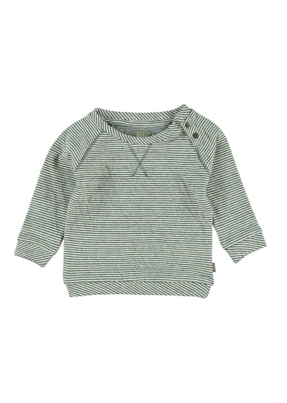Kidscase Sugar organic sweatshirt - off white/grey