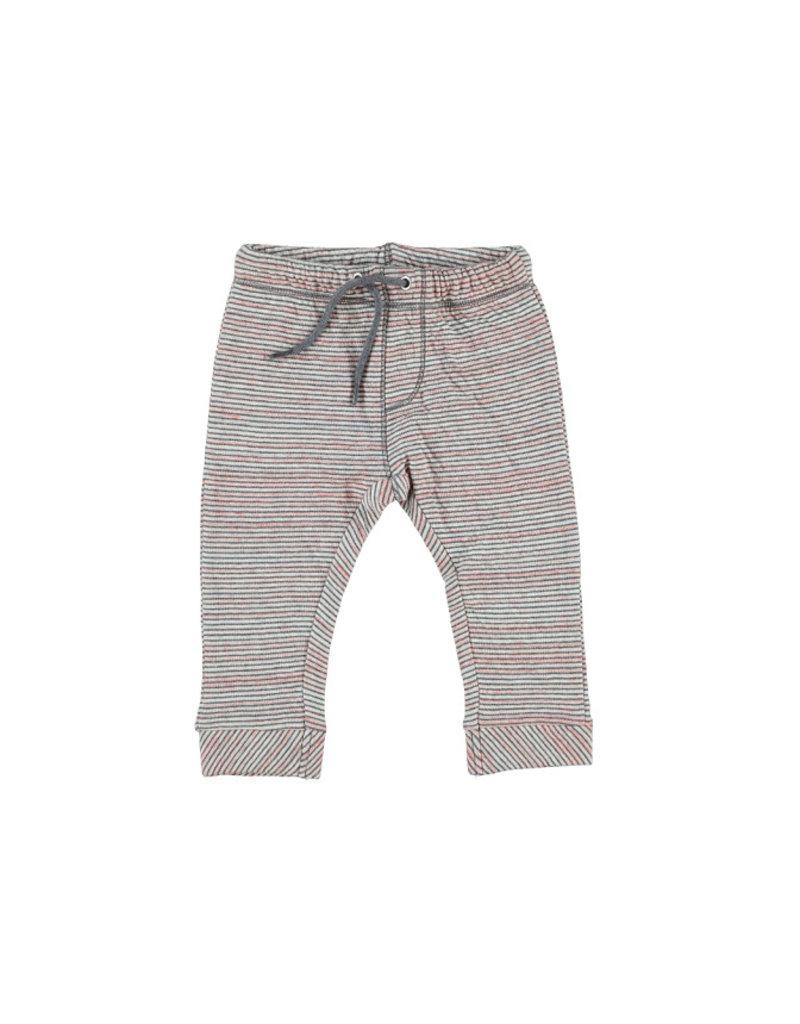 Kidscase Sugar organic broekje - pink/grey