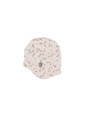 Kidscase Happy organic mutsje 3-6m - light pink