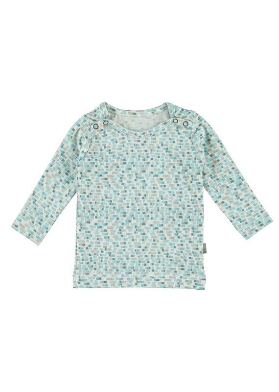 Kidscase Happy organic t-shirt - light blue