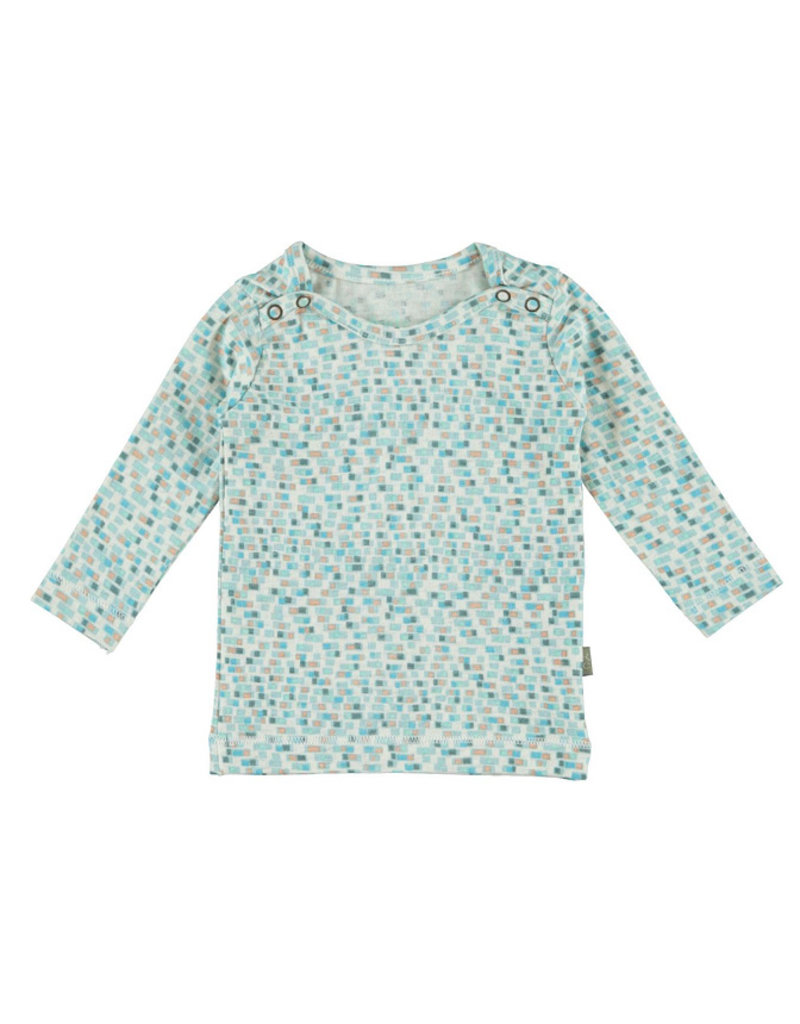 Kidscase Happy organic t-shirt - light blue