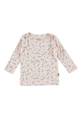 Kidscase Happy organic t-shirt - light pink