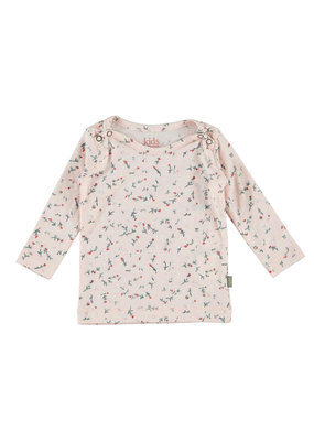 Kidscase Happy organic t-shirt - light pink