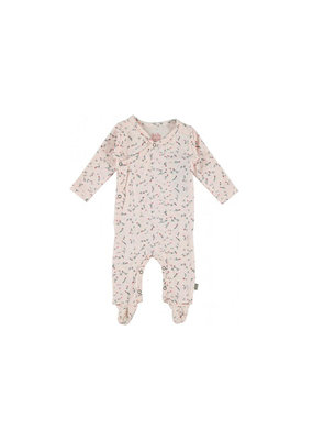 Kidscase Happy organic kruippakje - light pink