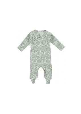 Kidscase Happy organic kruippakje - grey