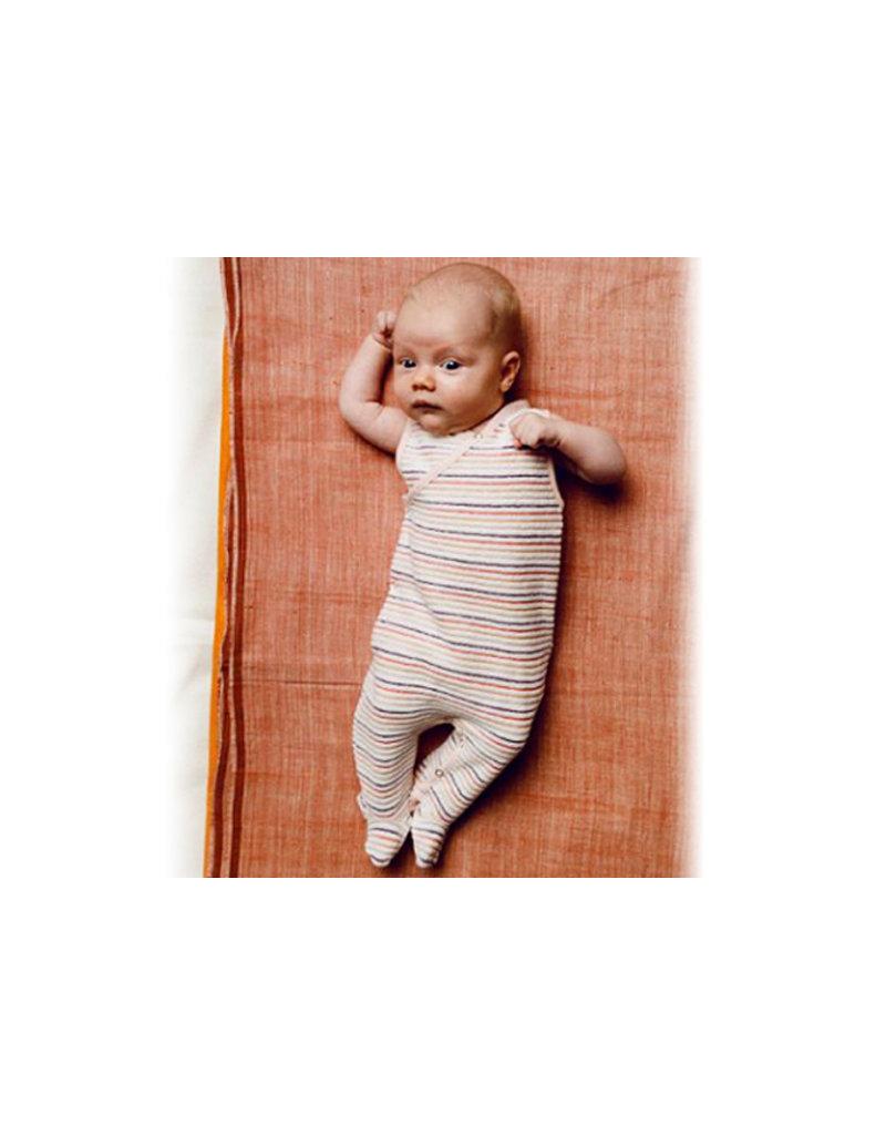 Kidscase Riza romper zonder voetjes - brown