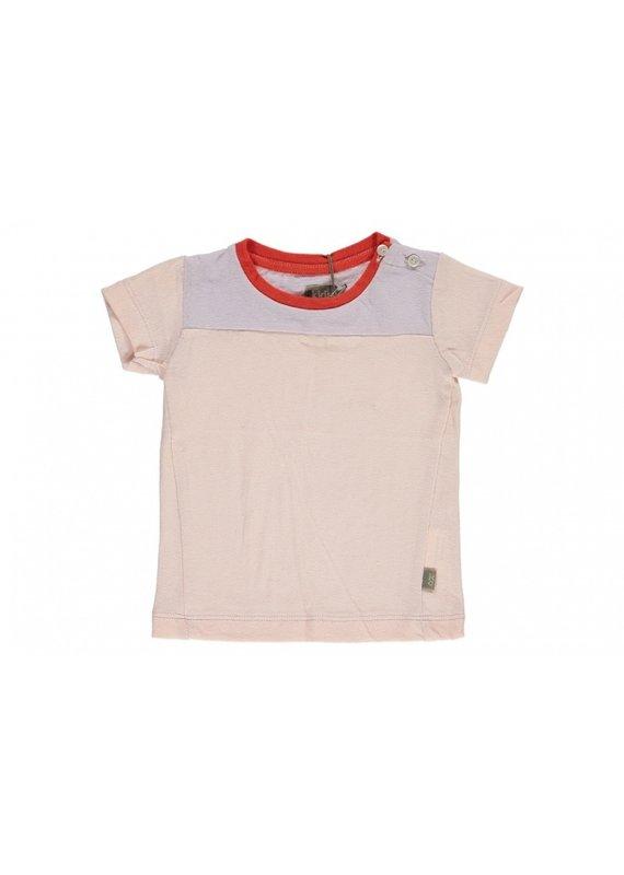 Kidscase Larry baby t-shirt - roze