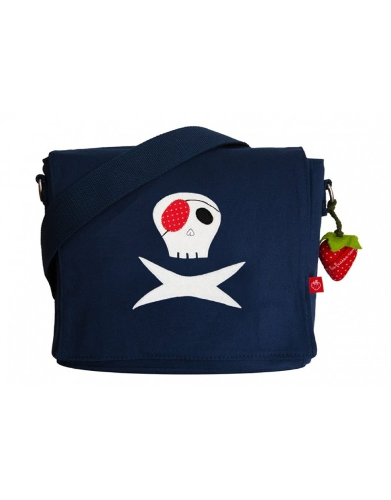 La fraise rouge Kleuterboekentas - piraat